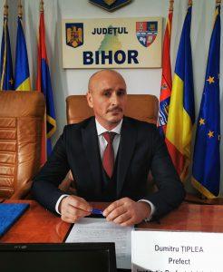 Prefect Bihor - Dumitru ȚIPLEA