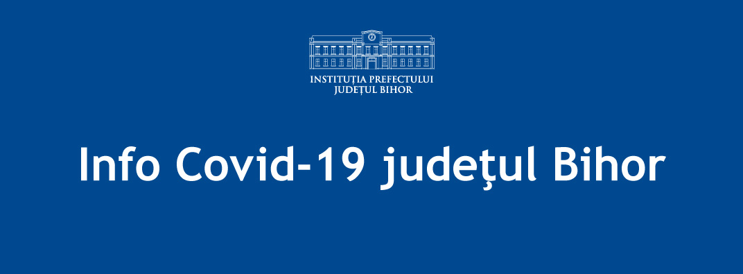 Info COVID-19 Bihor